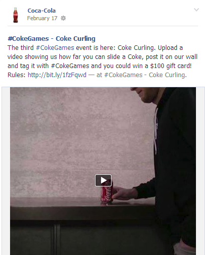 CokeGames2 Coca Cola Promotes Friendly Competition Among Fans With #CokeGames Contest