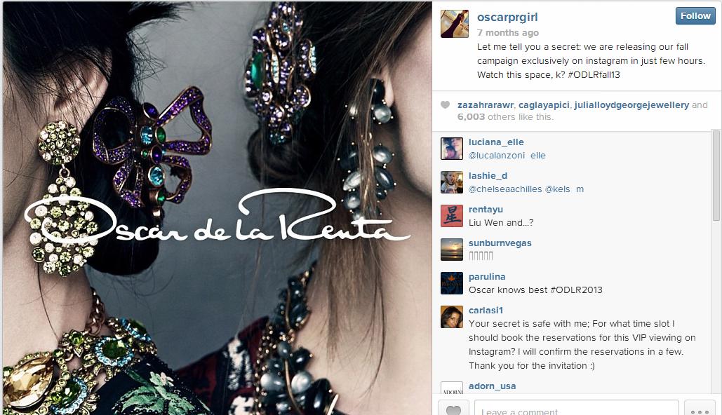 Instagram - Oscar3