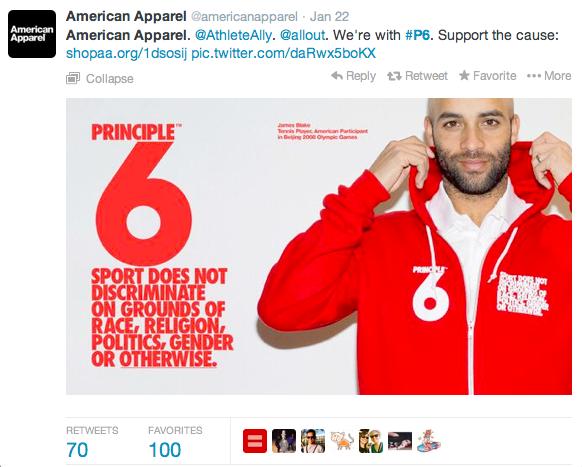 Screenshot 2014 02 12 14.39.52 How Molson, Airbnb, and American Apparel Scored Social Media Gold in Sochi