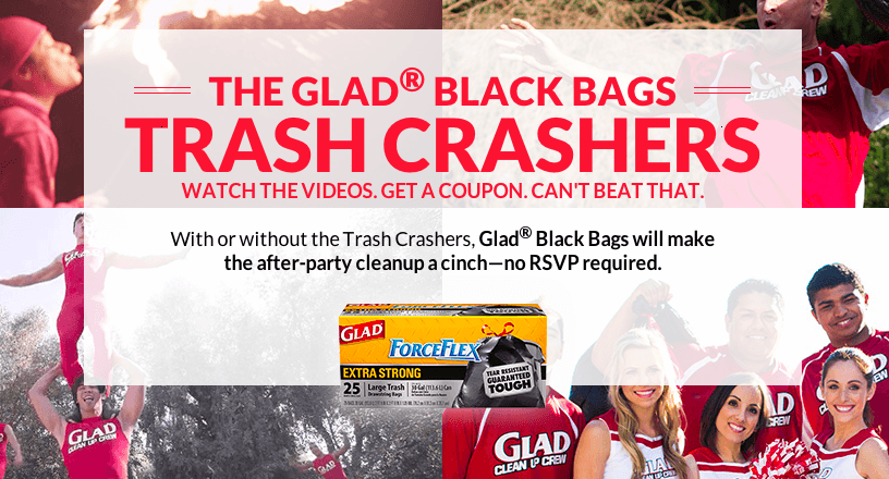 Glad Makes Cleaning Up Fun With New #TrashCrashers Campaign