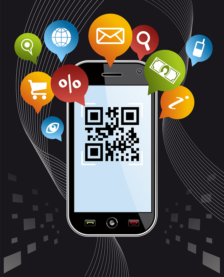 bigstock Go Social Via Smartphone Qr C 31182233 A Step By Step Guide to Setting Up a Mobile Marketing Campaign