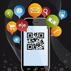 bigstock-Go-Social-Via-Smartphone-Qr-C-31182233