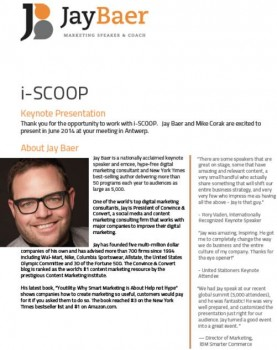 Jay Baer document template