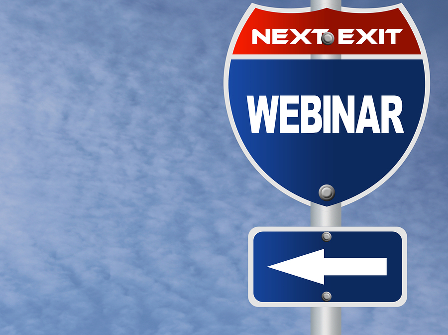 bigstock Webinar road sign 48221993 Will You Join Us in Destroying These 3 Webinar Myths?