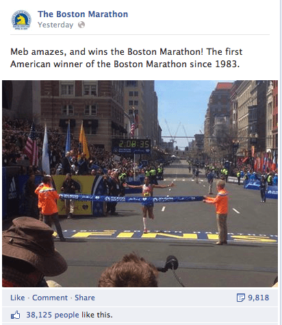 BostonMarathon3 Social Media Highlights From The Boston Marathon