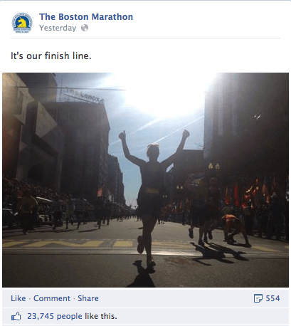 BostonMarathon5 Social Media Highlights From The Boston Marathon