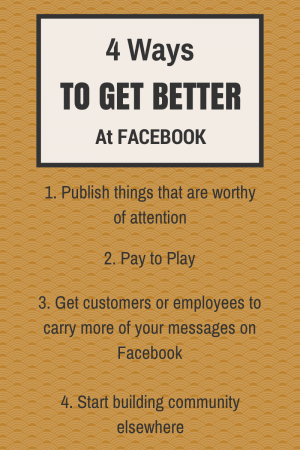 4 Ways To Fix Your Facebook Problem