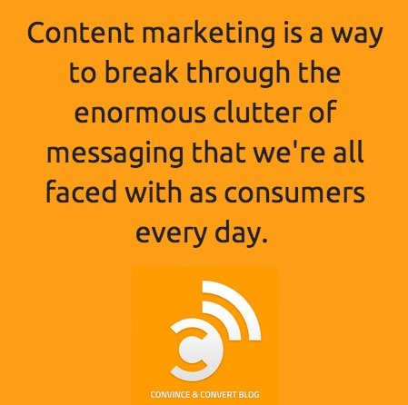 This is the true purpose of content marketing