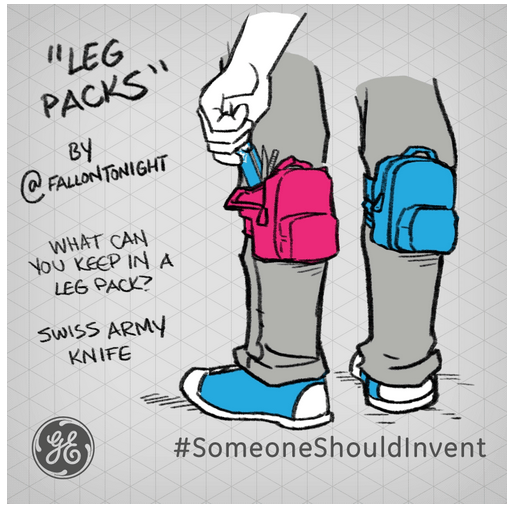 General Electric Teams Up With Jimmy Fallon To Launch #SomeoneShouldInvent Campaign