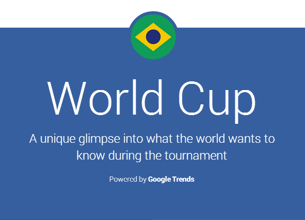 GoogleTrends Google Embraces Real Time Data and Visuals To Share Search Trends Around The World Cup