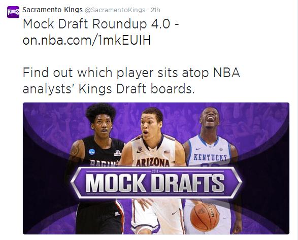 SacramentoKings2 Draft 3.0: The Sacramento Kings Crowdsource the Draft