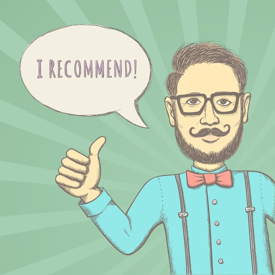 bigstock Hipster Recommend 64602406 The 3 Most Important Traits of a Great Social Agent for Your Business