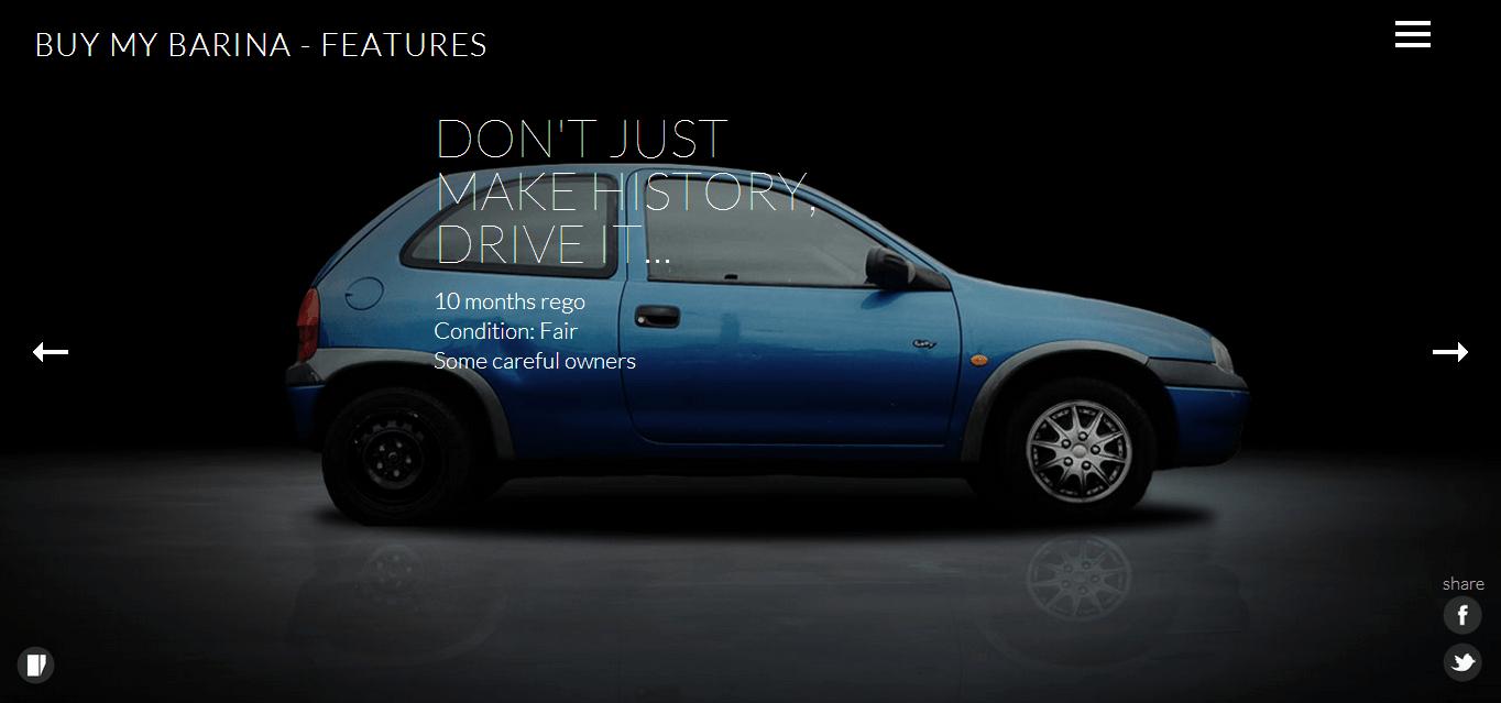 BuyMyBarina5 Could #BuyMyBarina Be The Best Used Car Ad Ever?