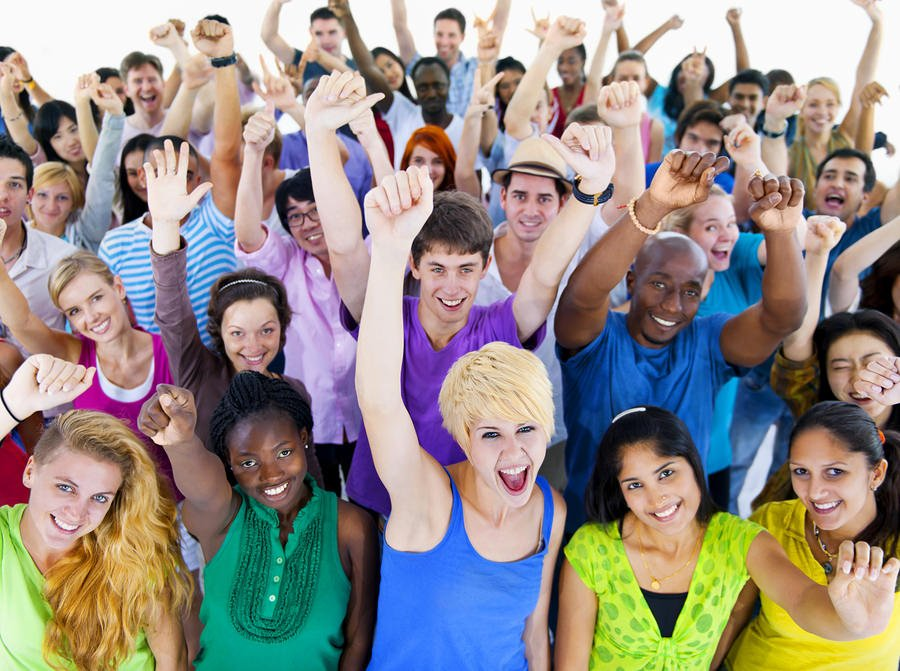 bigstock Large Group of People Celebrat 62227112 Forget Your Social Strategy. What's Your HR Strategy?
