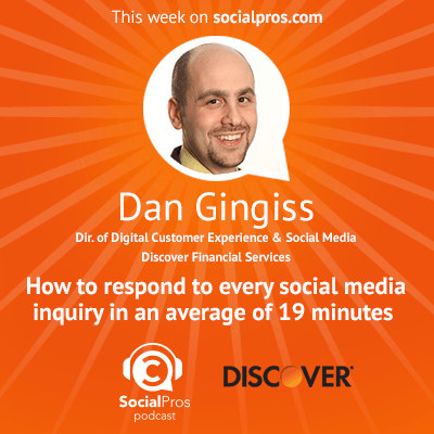 social pros dan dingiss In Social Media, the Only Guarantee is Change