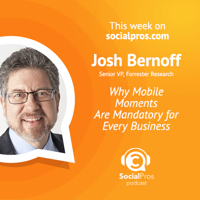 social pros josh bernoff In Social Media, the Only Guarantee is Change
