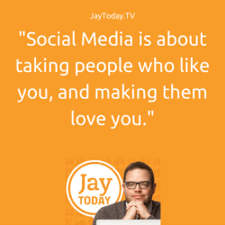 Social selling is possible but not how you think. Social media is an indirect sales channel, and people using it as a direct sales channel deserve to be disappointed, according to Jay Baer is this blog post and video from his Jay Today series.