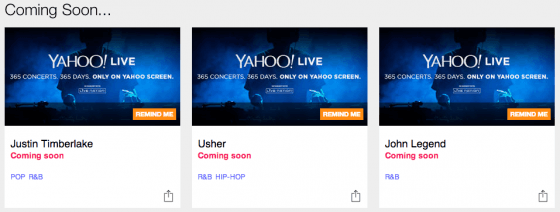 Holy Social! Yahoo Screen Live