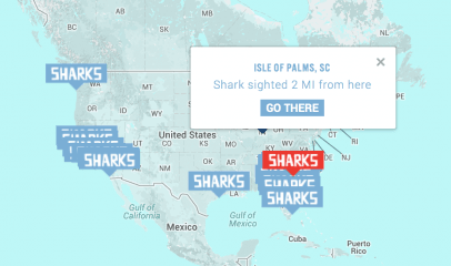 Travelocity Shark Week