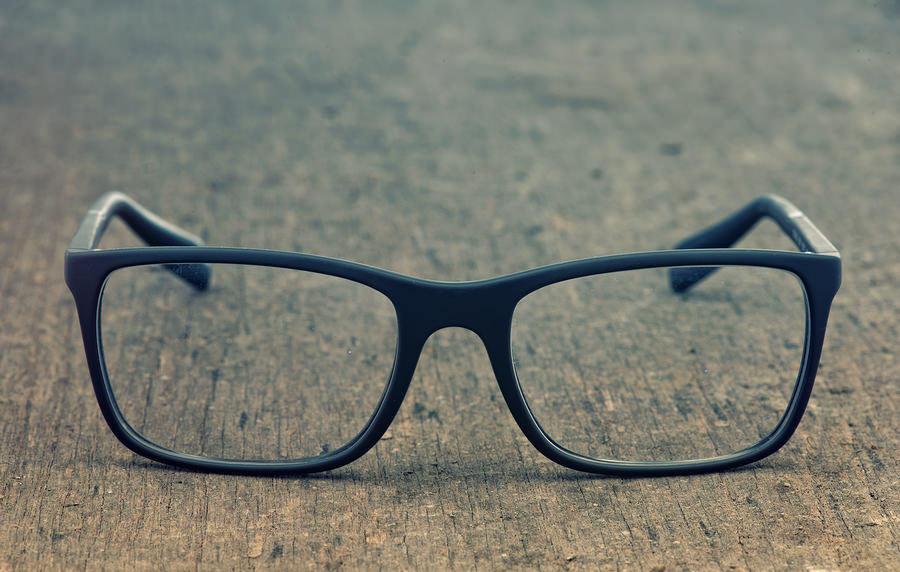 bigstock Geek eyeglasses laying on a gr 60024008 Data Geek or Storyteller? Today's CMO Must Excel at Both
