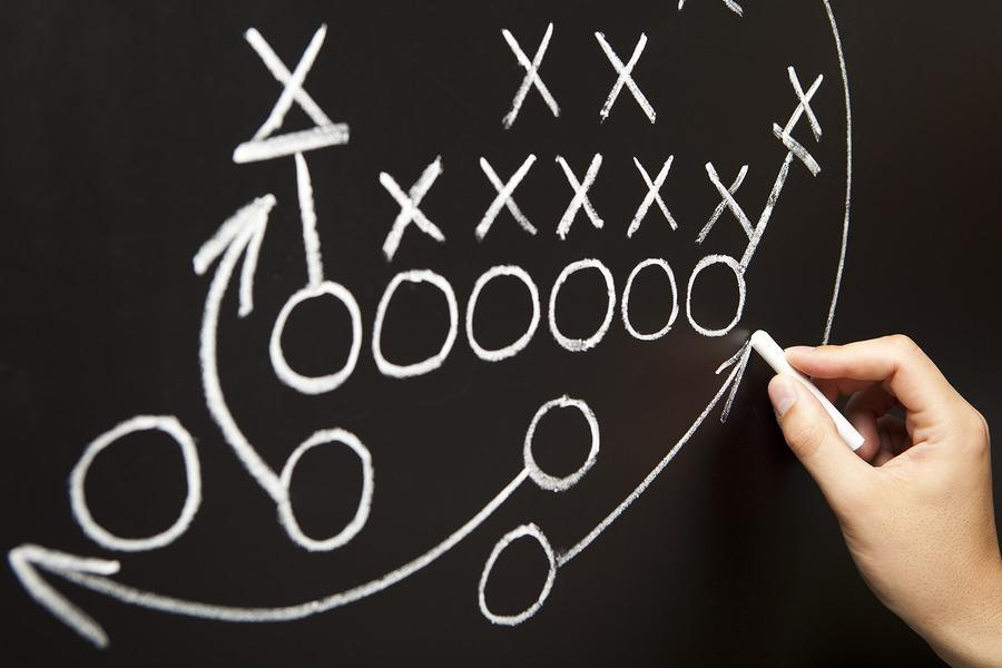 bigstock Hand Drawing A Game Strategy 21786521 Why Good Community Management Equals Great Business Development