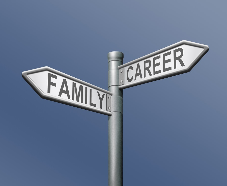 bigstock family or career difficult cho 32429399 Would You Rather Give Up Your Work Life or Your Personal Life?