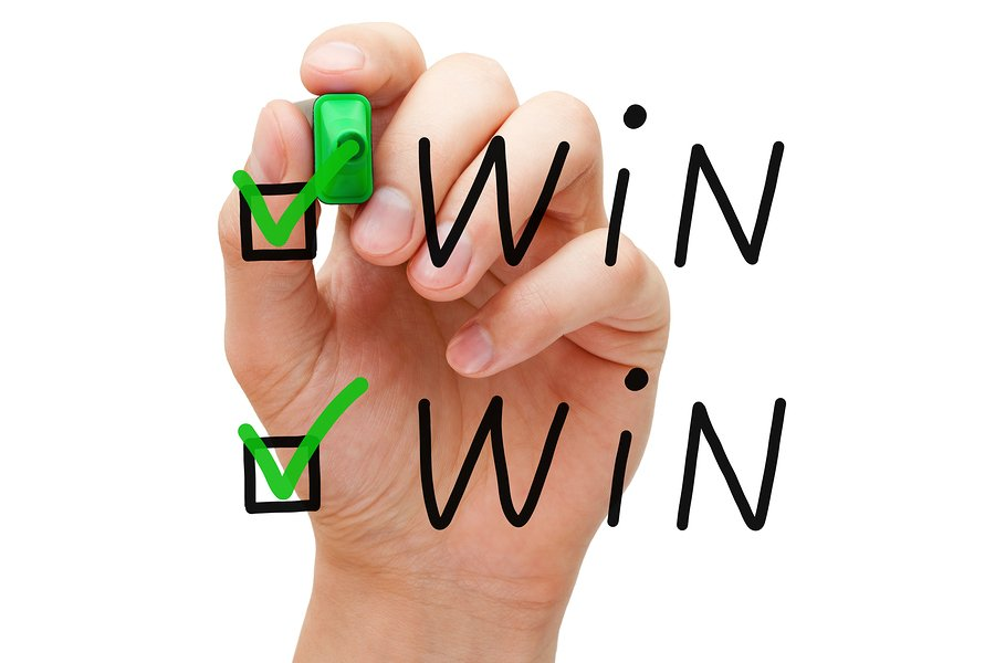 bigstock Win Win Check Marks 54396530 How Content Partners Can Boost Your Content Marketing Strategy