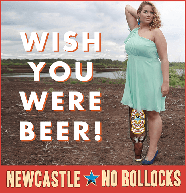 Newcastle Ale Lazy Branded Content