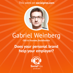 Social Pros Podcast with Gabriel Weinberg