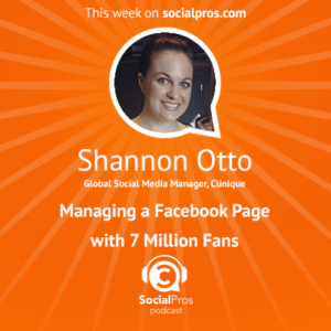 Social Pros Podcast with Shannon Otto