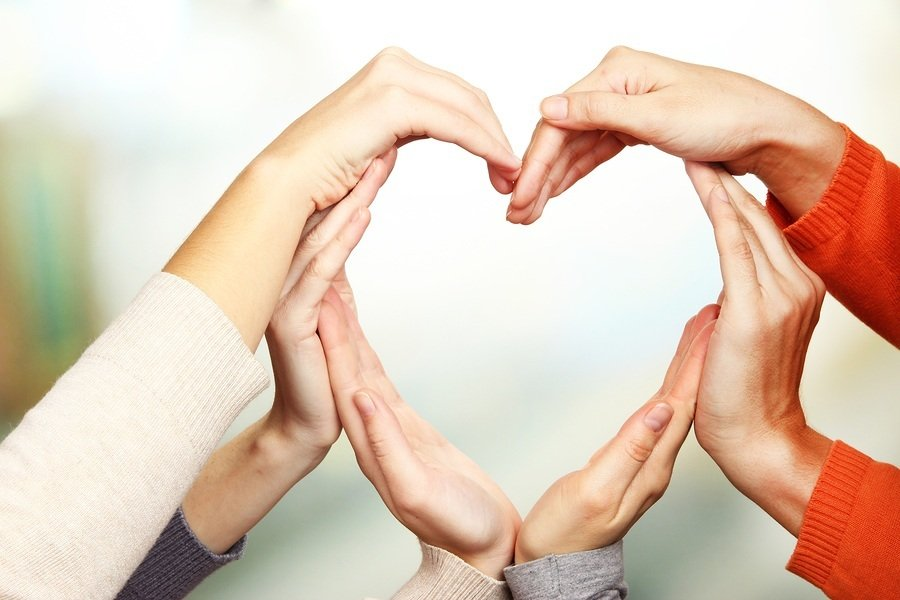 bigstock Human hands in heart shape on 54824582 Marketers Everywhere: Stop Marketing Your Brand