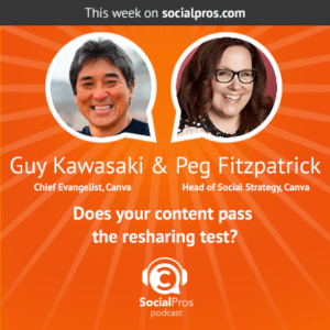 Social Pros Podcast with Guy Kawasaki and Peg Fitzpatrick