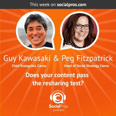Social Pros Podcast with Guy Kawasaki and Peg Fitzpatrick