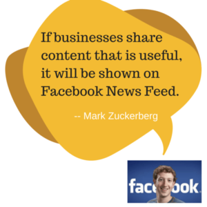 If businesses share content that is