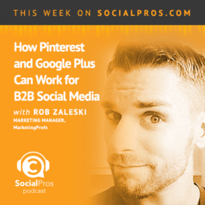 Social Pros Podcast with Rob Zaleski