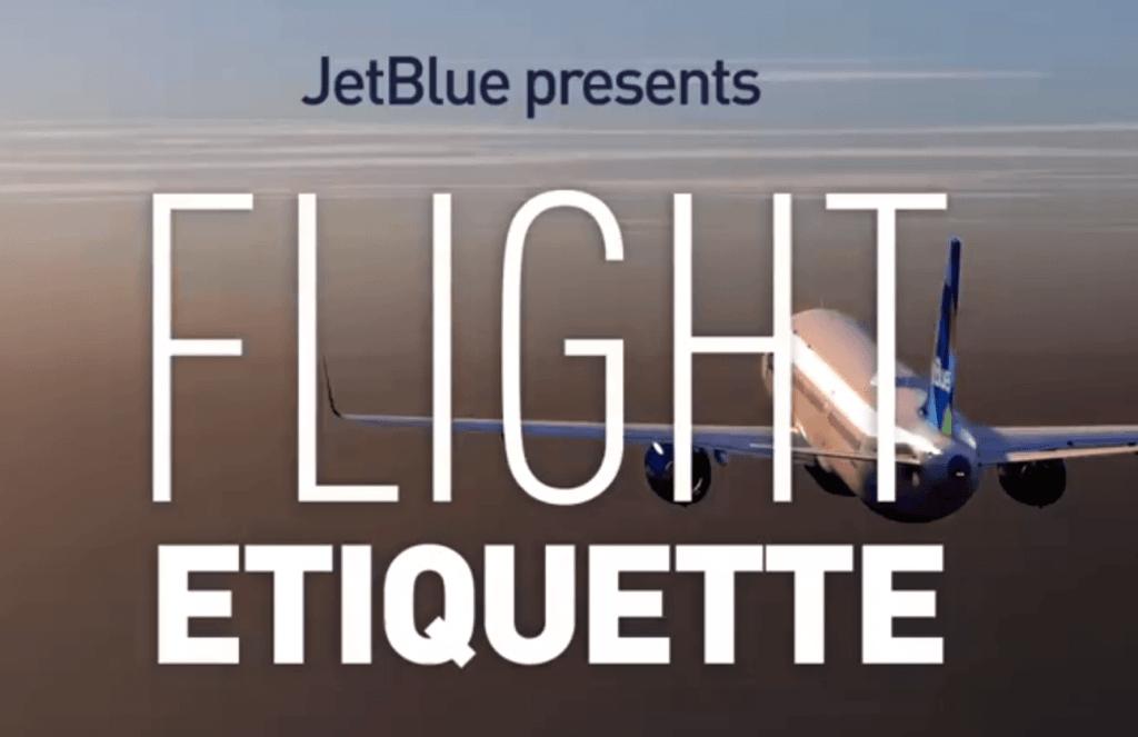 Flight Etiquette 1