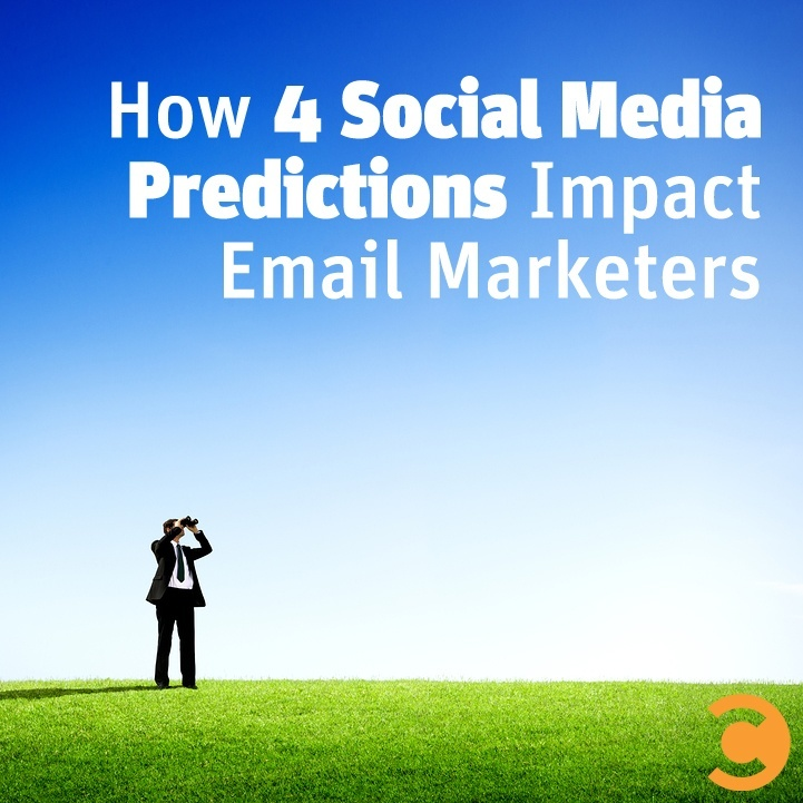 How 4 Social Media Predictions Impact Email Marketers