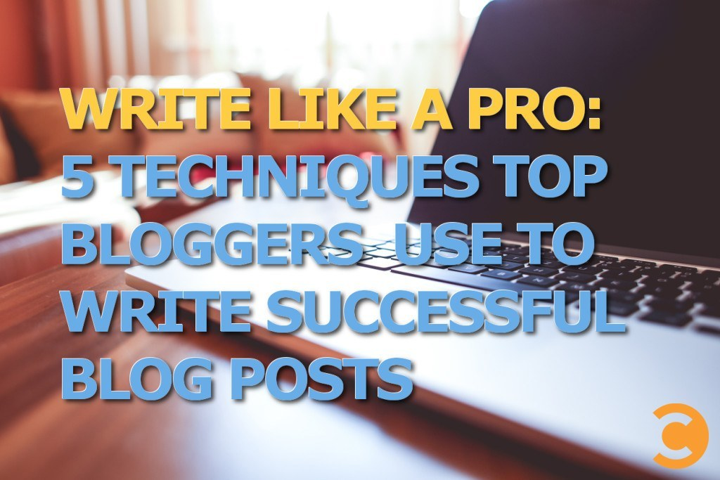 Write Like a Pro: 5 Techniques Top Bloggers Use to Write Successful Blog Posts