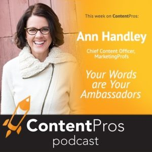 Your Words are Your Ambassadors - Content Pros Podcast