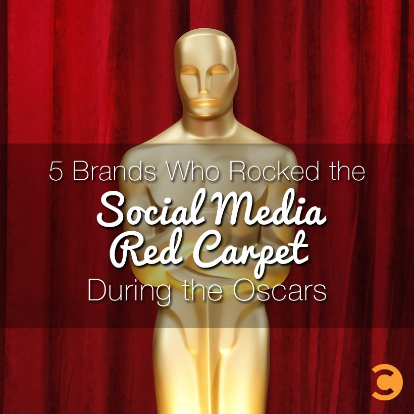 5 Brands Who Rocked the Social Media Red Carpet During the Oscars