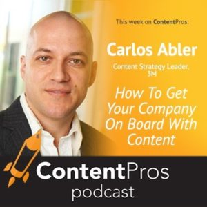 Content Pros Carlos Abler