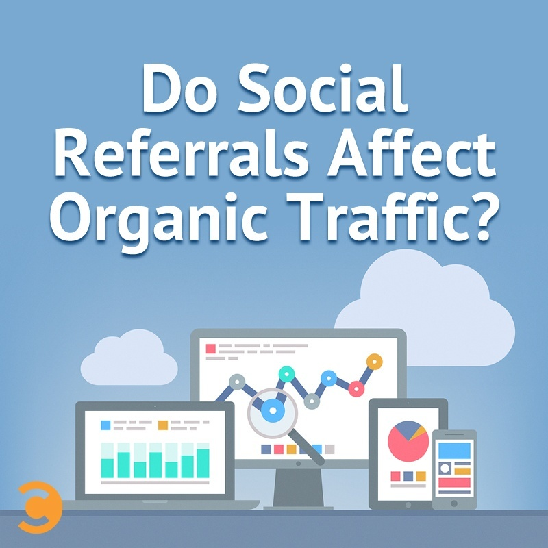 Do Social Referrals Affect Organic Traffic?