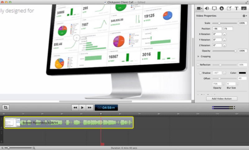 Visual Content Tools - ScreenFlow