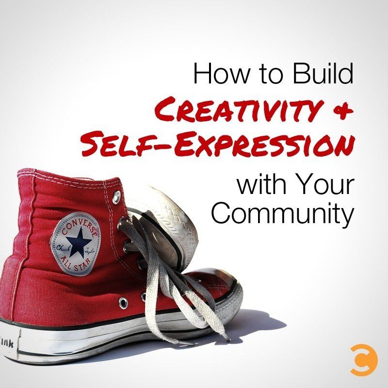 How to Build Creativity and Self-Expression with Your Community