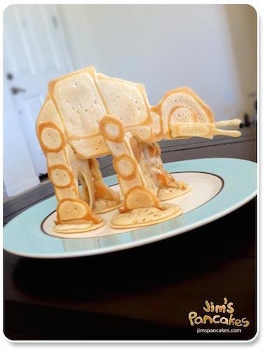 Jims Pancake Star Wars