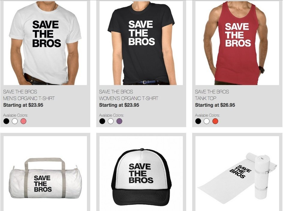 Organic Valley - Save the Bros merch