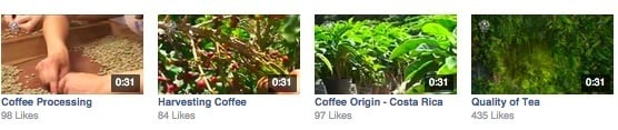 Facebook video - Coffee Bean