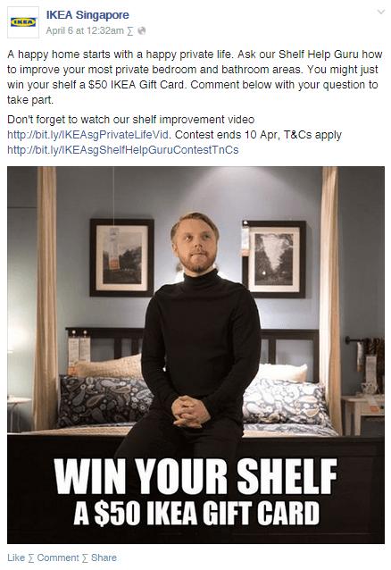 IKEA Singapore contest