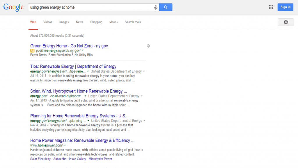 Keyword Semantic Search example