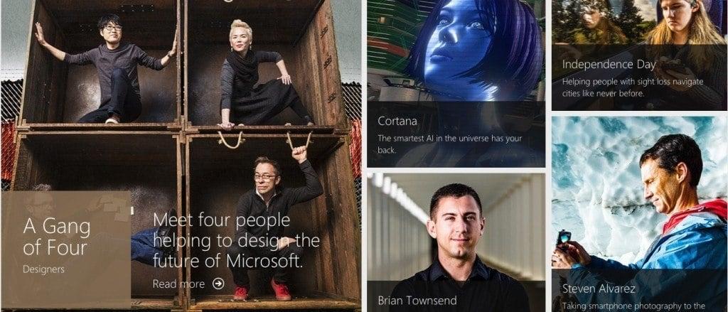 Microsoft Stories